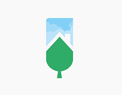 construccion sostenible logotipo
