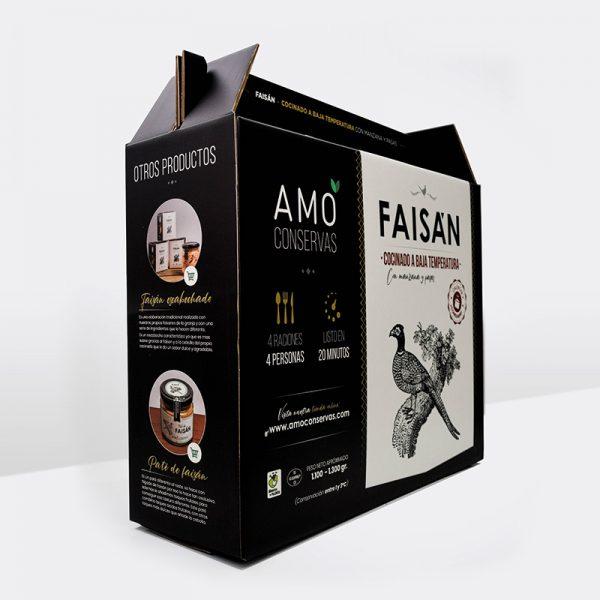 Diseño de caja/packaging Amo conservas 2