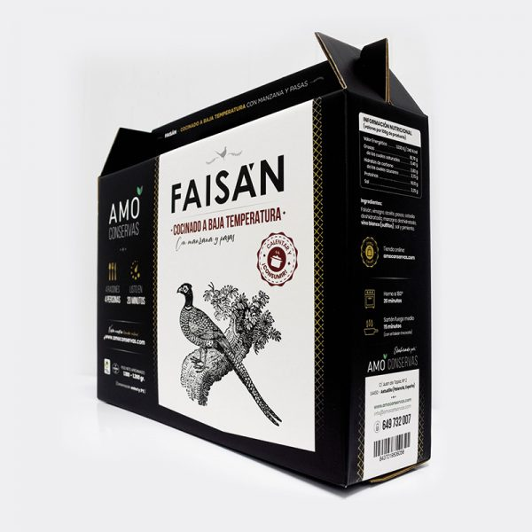 Diseño de caja/packaging Amo conservas 1